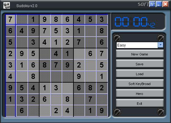 Sudoku Bugoosoft Screenshot 1