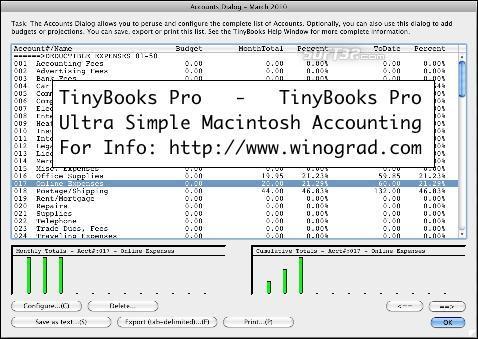 TinyBooks Pro Screenshot 2