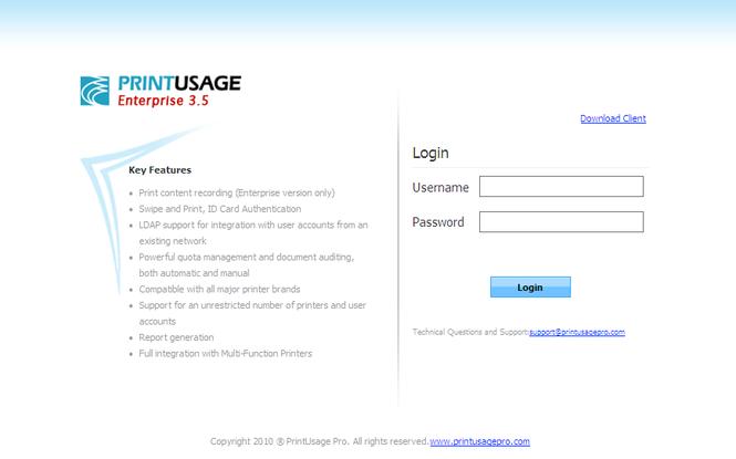 PrintUsage Pro Screenshot
