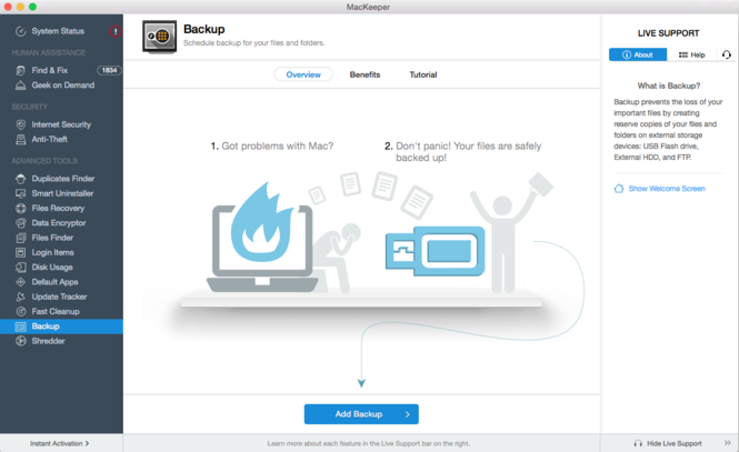MacKeeper Screenshot 2