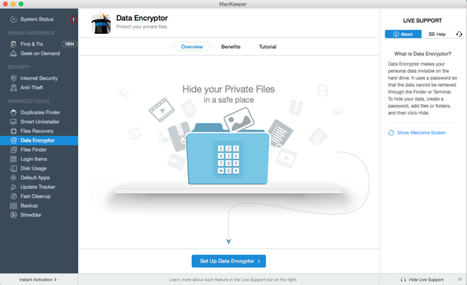 MacKeeper Screenshot 3