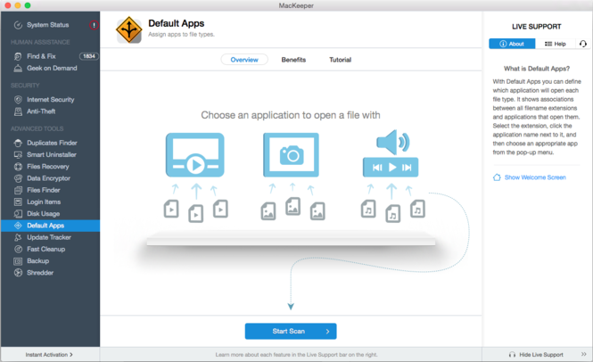 MacKeeper Screenshot 4