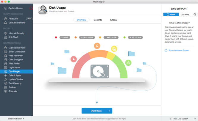 MacKeeper Screenshot 5