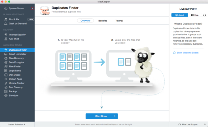 MacKeeper Screenshot 6