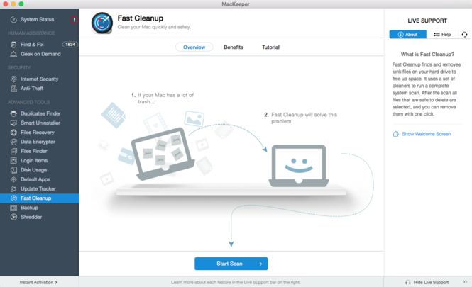 MacKeeper Screenshot 7