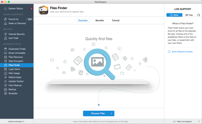 MacKeeper Screenshot 8