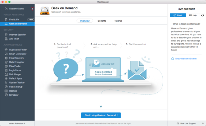 MacKeeper Screenshot 11