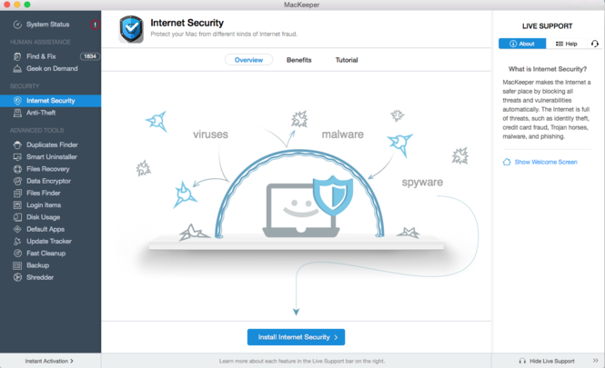 MacKeeper Screenshot 12
