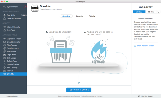 MacKeeper Screenshot 16