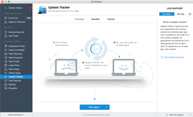 MacKeeper Screenshot 18