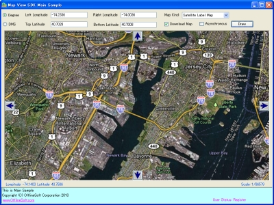 Map View SDK Screenshot