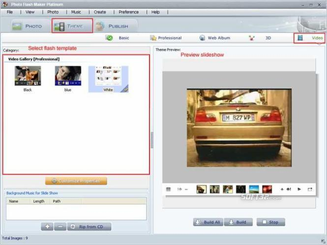 Photo Flash Maker Platinum Screenshot 2
