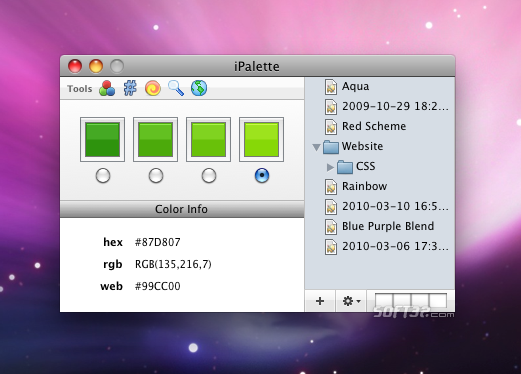 iPallete Screenshot