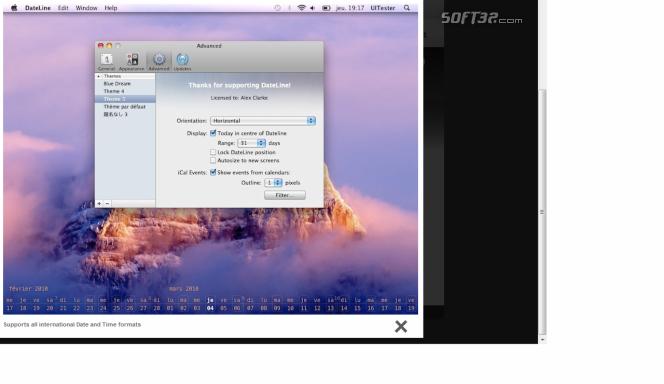 DateLine Screenshot 2
