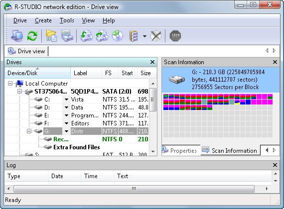 R-Studio Data Recovery Software Screenshot