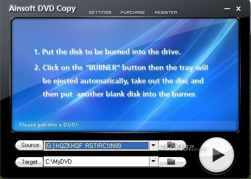 Ainsoft DVD Copy Screenshot 3