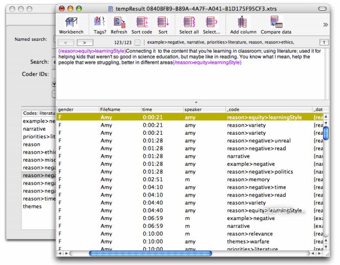TAMS Analyzer Screenshot 3