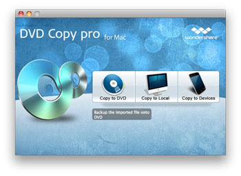 Wondershare DVD Copy Pro for Mac Screenshot 1