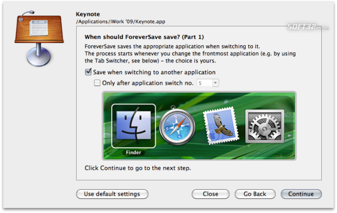 ForeverSave Screenshot 2