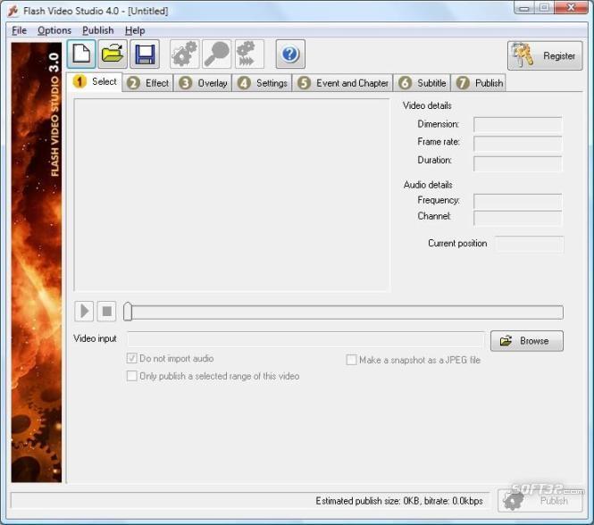 Flash Video Studio Screenshot 2