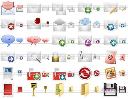 Message Toolbar Icons Screenshot 2