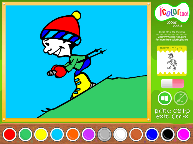 I Color Too: Toons 5 Screenshot
