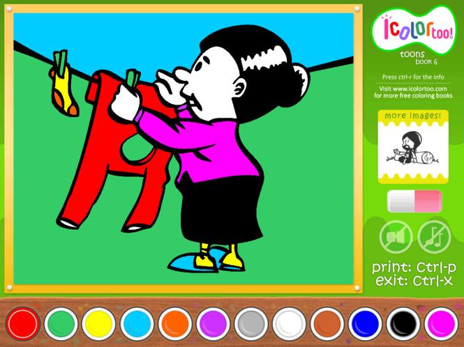 I Color Too: Toons 6 Screenshot