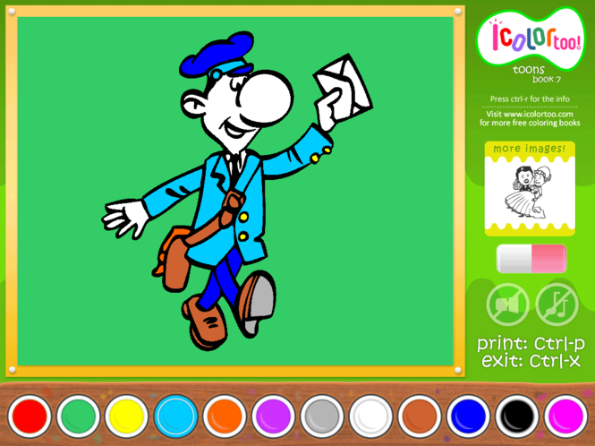 I Color Too: Toons 7 Screenshot 1