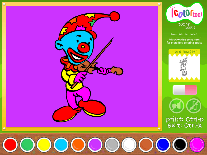 I Color Too: Toons 9 Screenshot
