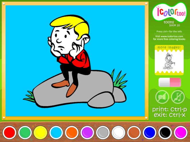 I Color Too: Toons 10 Screenshot
