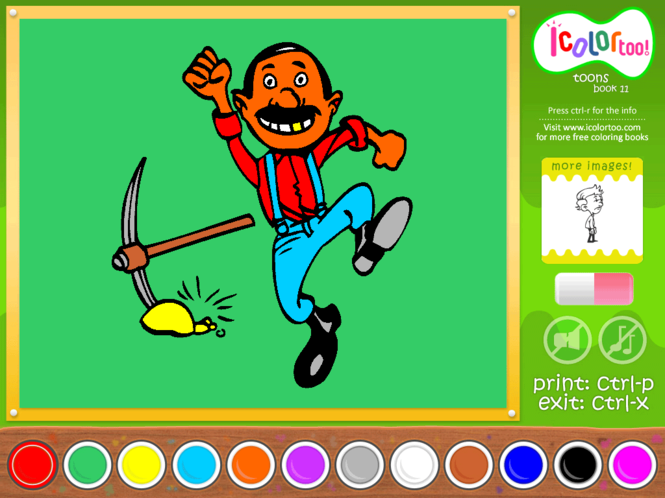 I Color Too: Toons 11 Screenshot 1