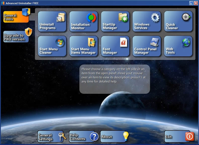 Advanced Uninstaller FREE Screenshot