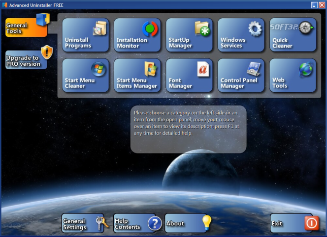 Advanced Uninstaller FREE Screenshot 2
