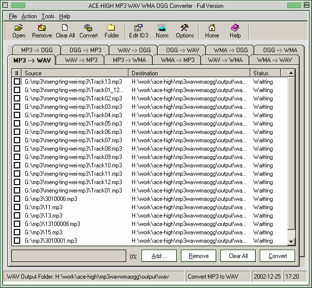 MP3 Converter Simple Screenshot