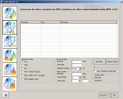 Turbo Burner Screenshot 2