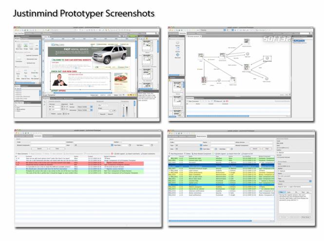 Justinmind Prototyper Screenshot 2