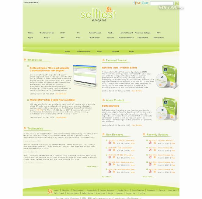 Free Download Sun 310-876 Practice Exam Screenshot 3