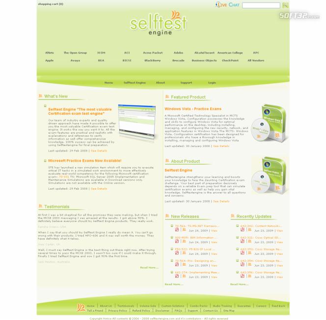 Download 000-M50 IBM Free Practice Exam Screenshot 3