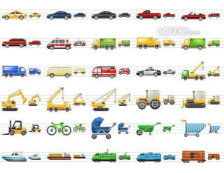 Perfect Transport Icons Screenshot 2