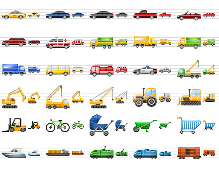 Perfect Transport Icons Screenshot