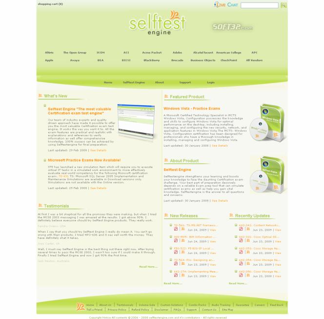 Download 642-812 Cisco Free practic exam Screenshot 2
