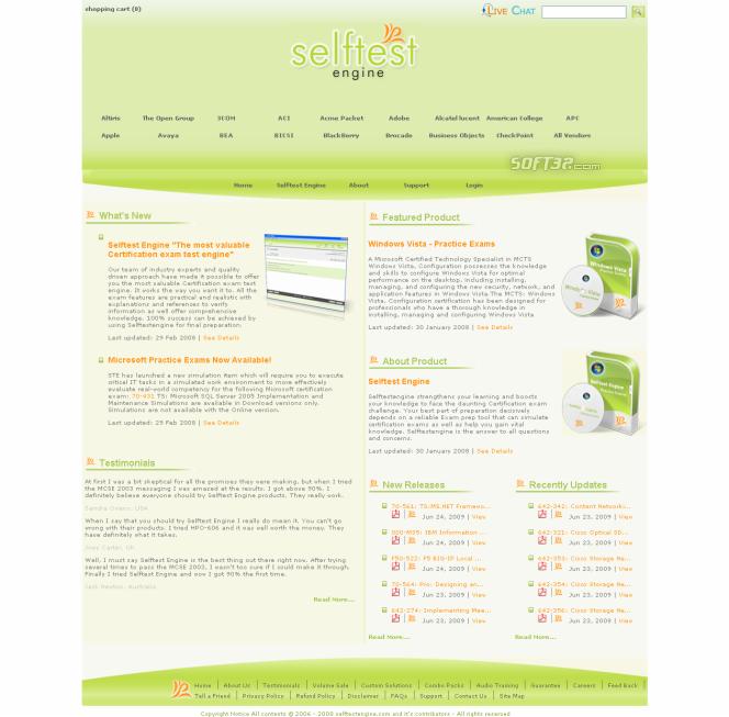 642-892 Free Download Cisco exam practic Screenshot 2
