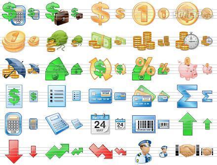 Accounting Toolbar Icons Screenshot 2