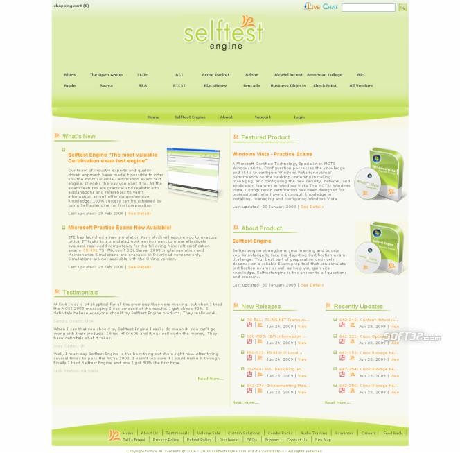 Download Sun 310-055 Free Practice Exam. Screenshot 2