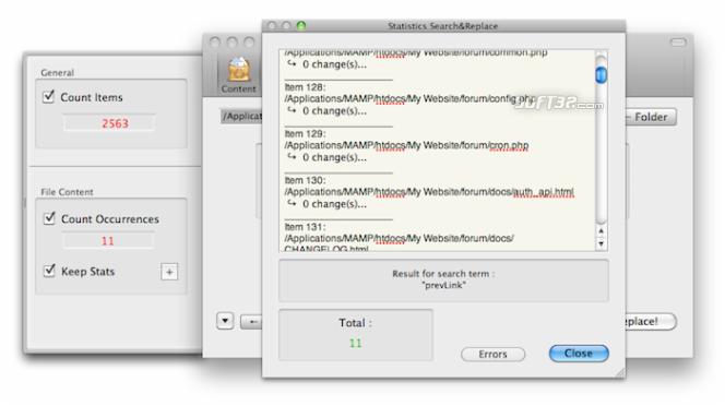 Search&Replace Screenshot 4