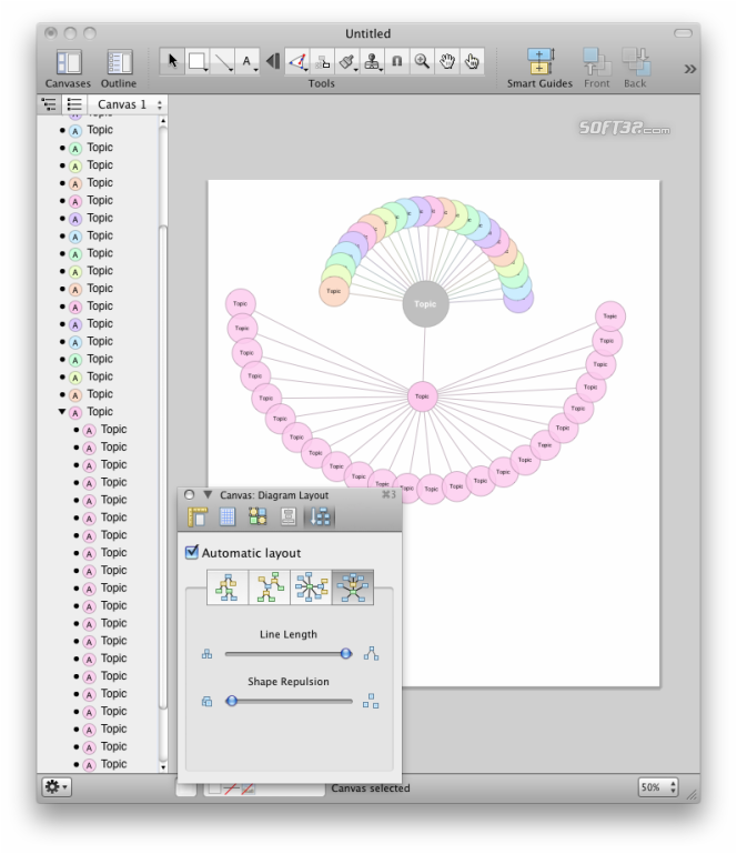 OmniGraffle Screenshot