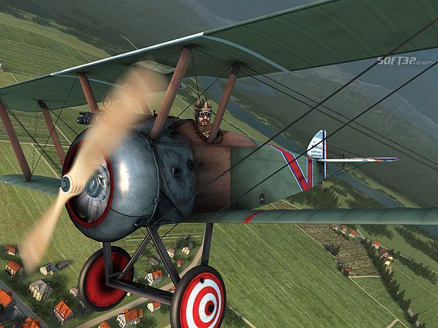Vintage Aircrafts 3D Screensaver Screenshot 3