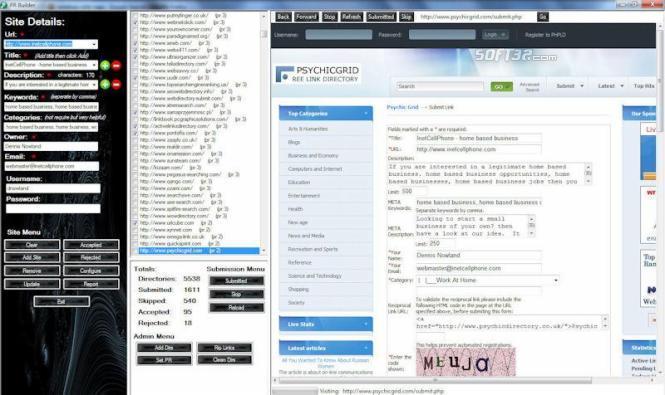 Pr Builder Screenshot 3