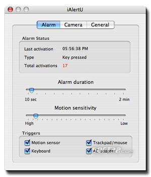 iAlertU Screenshot 1