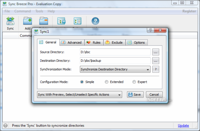 SyncBreeze Pro Screenshot 4
